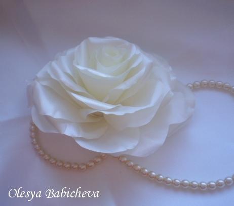 розы из ткани своими руками - Цветы.